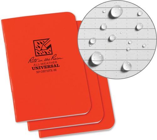 Stapled Mini Notebook 3 Pack