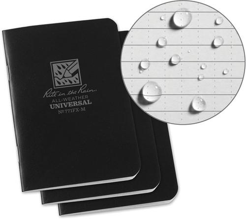 Mini Stapled Notebook 3 Pack RITR771FXM