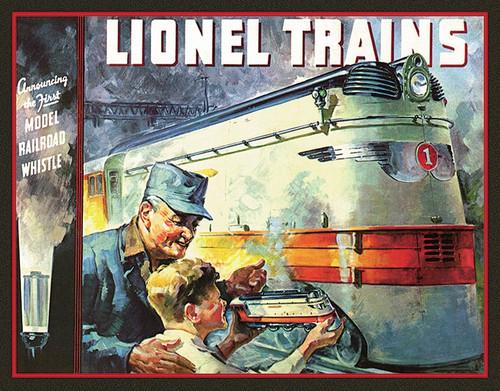 Lionel 1935 Sign