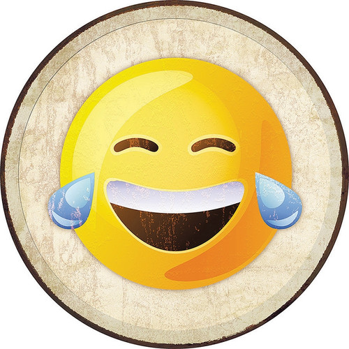 Emoji Laugh Sign