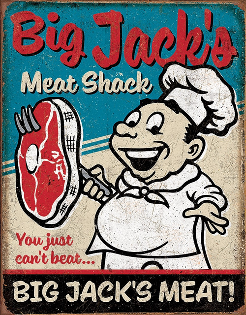 Big Jacks Meats Sign