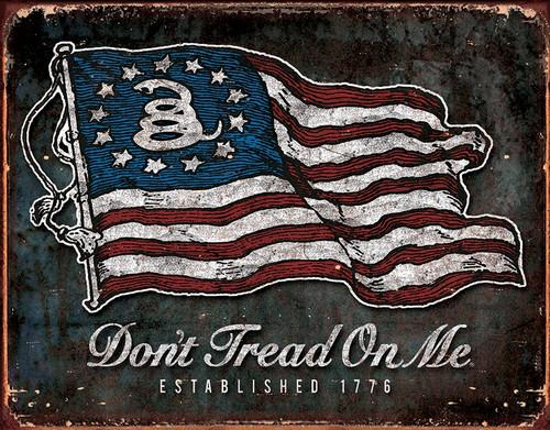 DTOM Vintage Flag