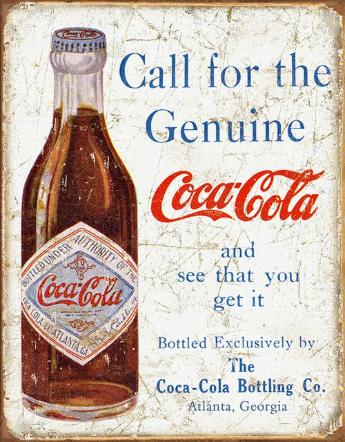Coke Call For The Genuine