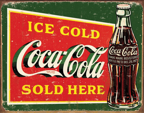 Coke Ice Cold Green