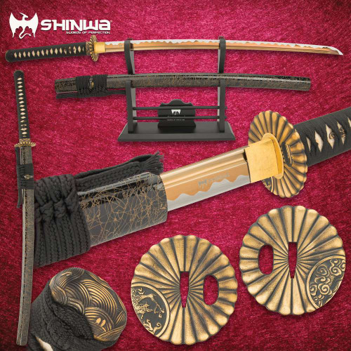 Shinwa WhirlWind Katana With Scabbard
