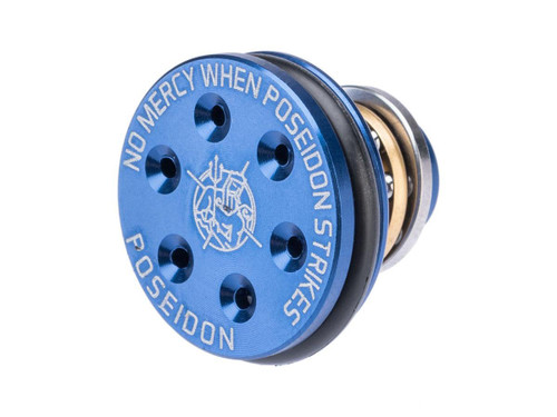 Poseidon CNC Machined Ventilated Aluminum Piston Head for Airsoft AEG Gearboxes
