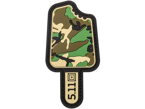 """5.11 Tactical """"Camo Popsicle"""" PVC Morale Patch"""