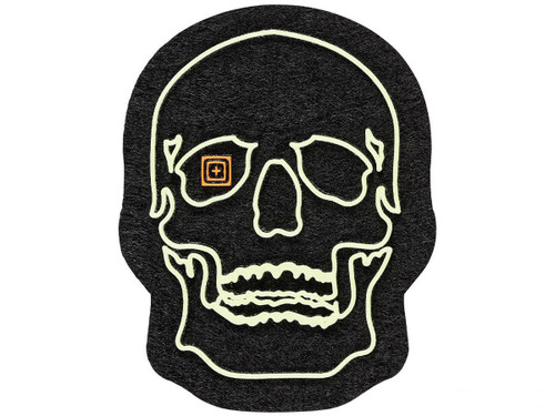 """5.11 Tactical """"Painted Skull"""" PVC Morale Patch"""