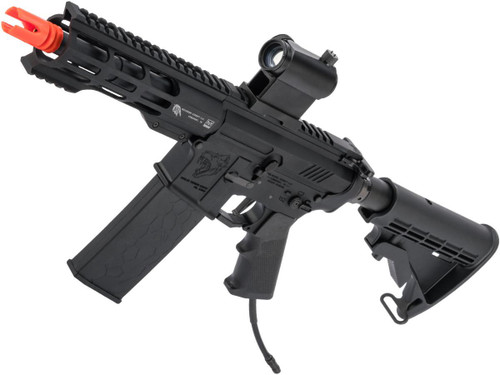 """Wolverine Airsoft MTW Modular Training Weapon HPA Powered M4 Airsoft Rifle (Model: Inferno / Invictus 7"""" Rail)"""