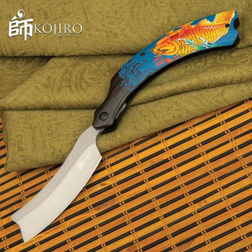 Kojiro Golden Koi Pocket Razor