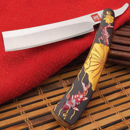 Koi Fish Razor Pocket Knife