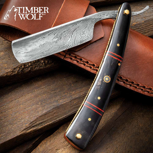 Timber Wolf Calcutta Folding Razor Knife And Sheath