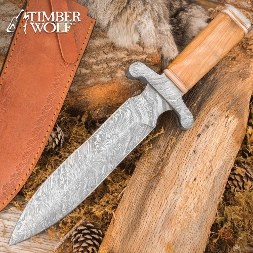 Timber Wolf Greco Knife And Sheath