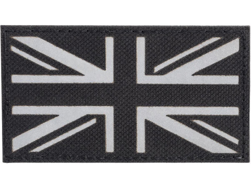 "Matrix Reflective UK ""Union Jack"" Flag Patch"