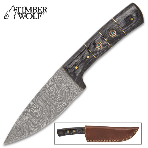 Timber Wolf Mule Knife And Sheath