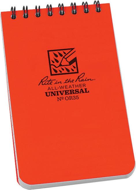 Top Spiral Notebook Orange RITROR35