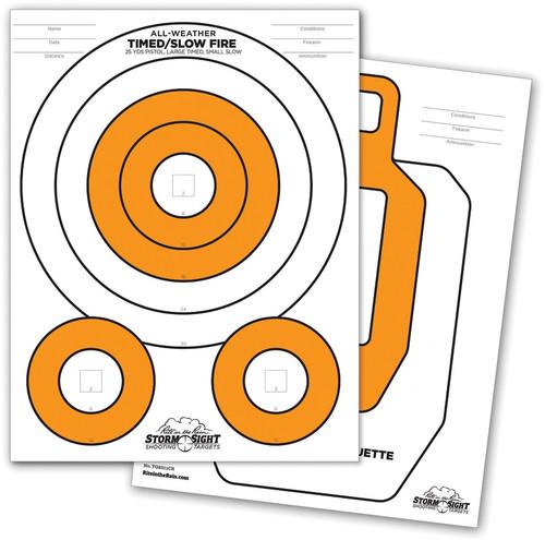 Close-Range Targets 25 pack
