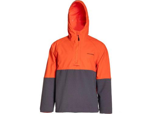Grunden Superwatch Anorak Fishing Pullover (Color: Hi-Vis Orange )