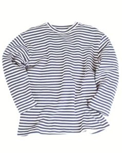 MIL-TEC Blue White Striped Winter Sweater