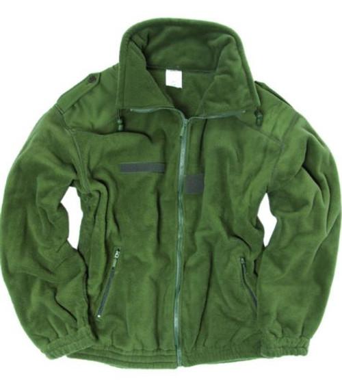 French Armed Forces Orig OD Polar Fleece Jacket