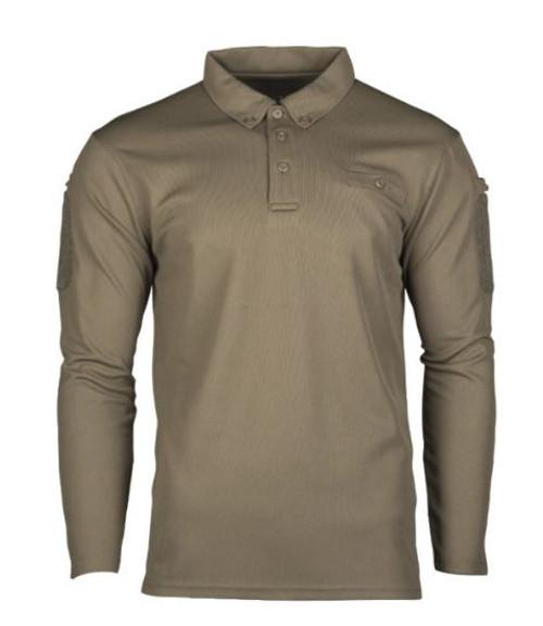 MIL-TEC OD Quick-Dry LG/SL Tactical Shirt