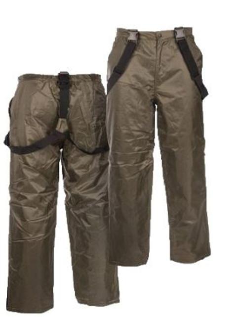 Mil-Tec OD Thermal Pants w/Suspenders
