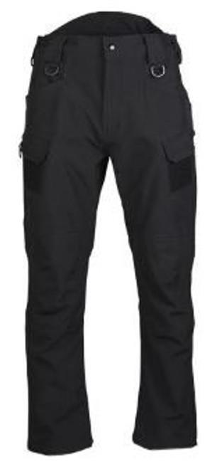 Mil-Tec Black Softshell Pants