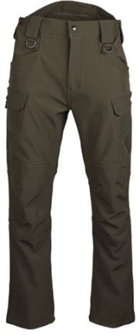 Mil-Tec Ranger Green Softshell Assault Pants