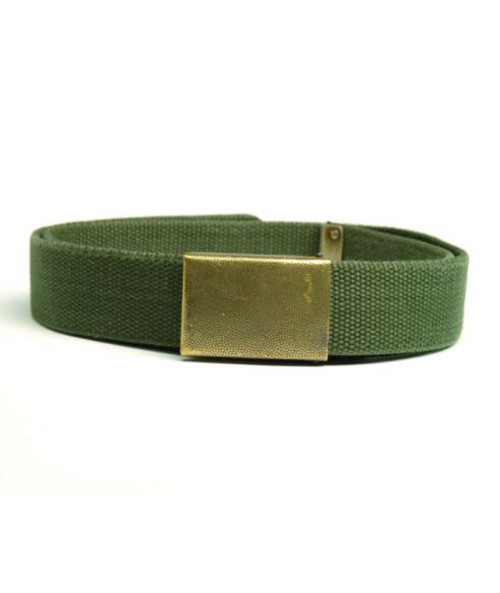 German Armed Forces Od Web Trouser Belt