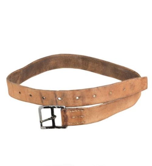 Swiss Armed Forces Brown 33Mm Leather Belt