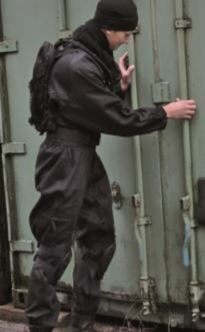 Mil-Tec Black Swat Coverall