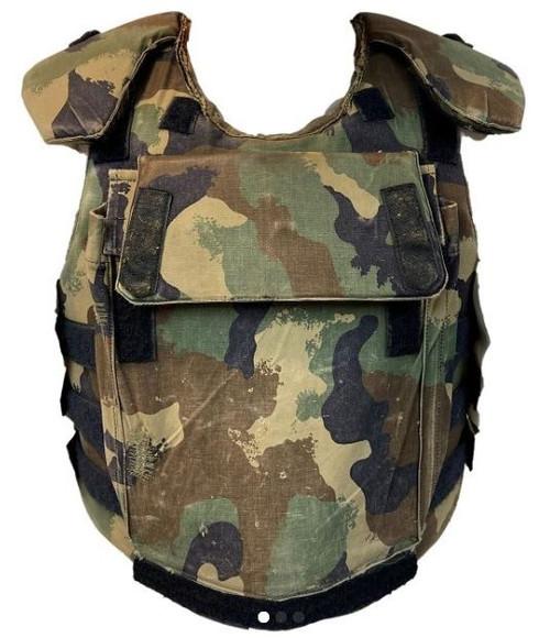 Hungarian Armed Forces Camo Flak Vest