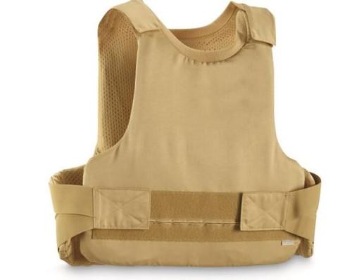 German Armed Forces Khaki Police Flak Vest W Bag