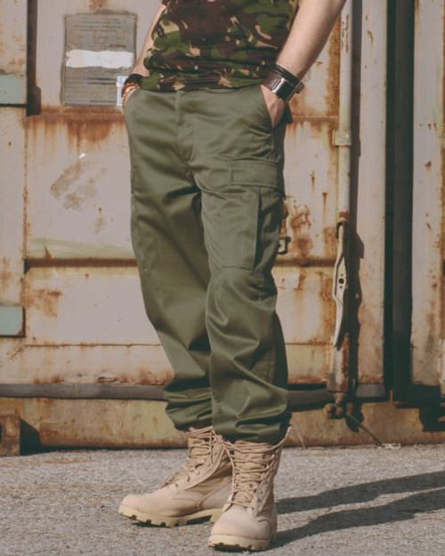 Mil-Tec OD Ranger BDU Field Pants