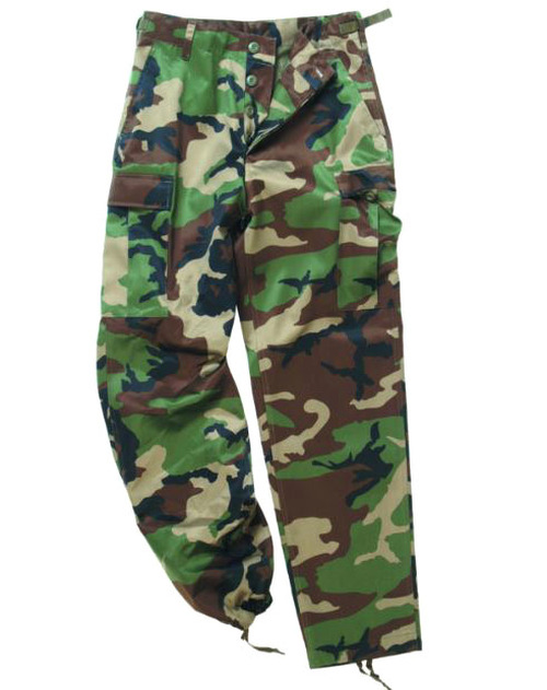 Mil-Tec Woodland Camo Ranger BDU Field Pants