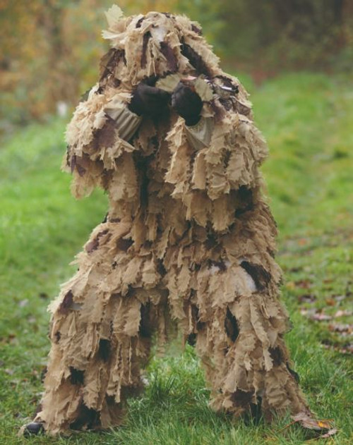 Mil-Tec Desert Oak Leaf 3D Camo Ghillie Suit