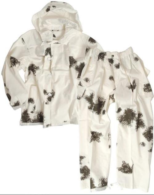 Mil-Tec Cotton Snow Camo Suit