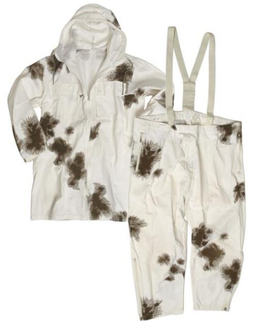 Mil-Tec Poly Cotton Snow Camo Suit