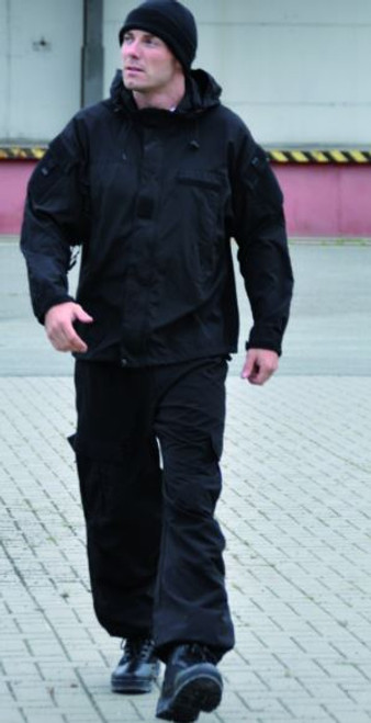 Mil-Tec Black Gen III Softshell Jacket