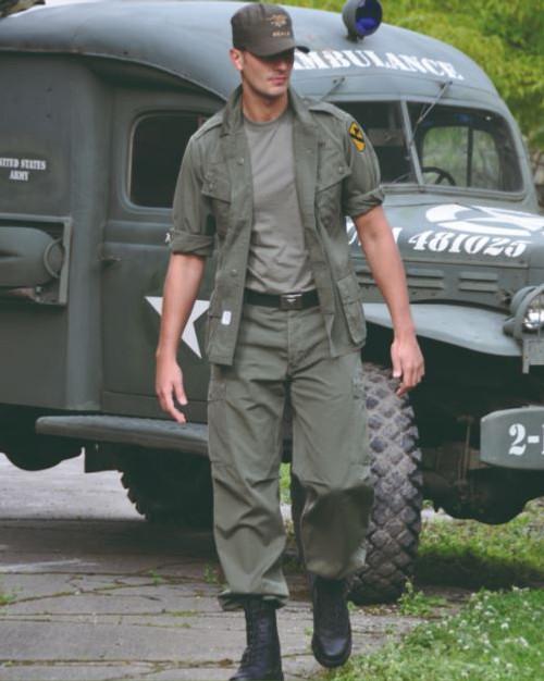 US Repro OD M64 Vietnam Jungle Jacket