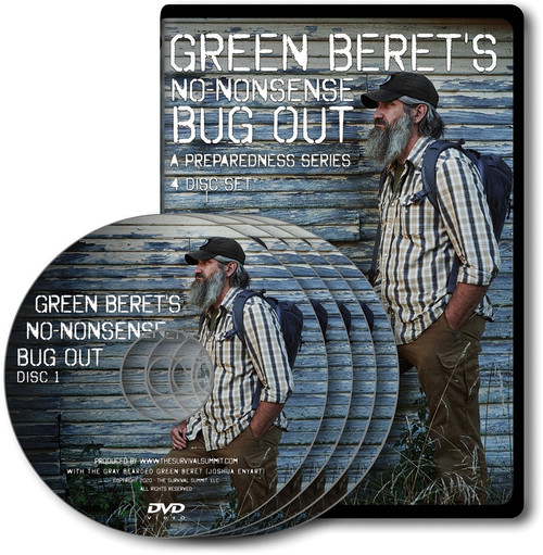 Green Beret's Bug Out DVD