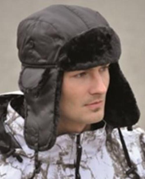 Mil-Tec Black Ma 1 Winter Pilot Hat