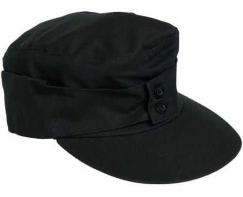 Mil-Tec Black M43 Moleskin Mountain Cap