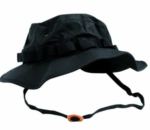 Mil-Tec Black Trilam Boonie Hat