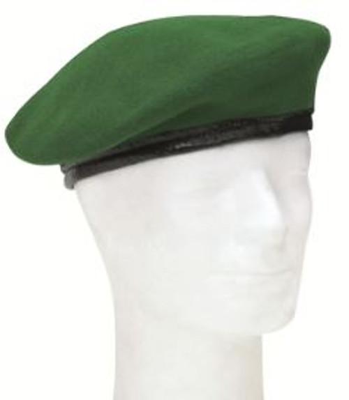 German Orig Green Wool Beret