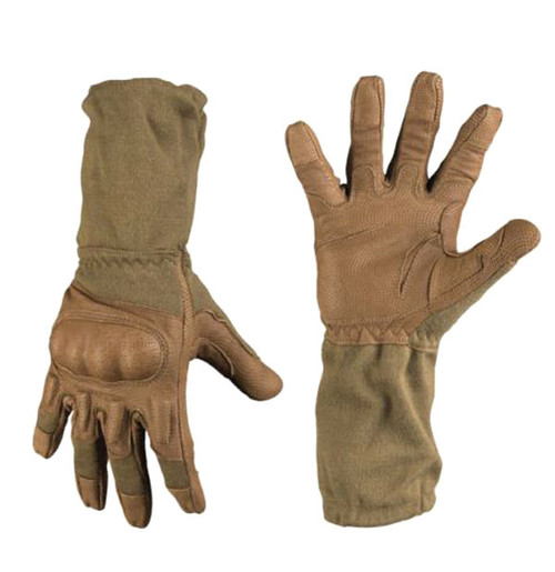 Mil-Tec Coyote Long FR Action Gloves