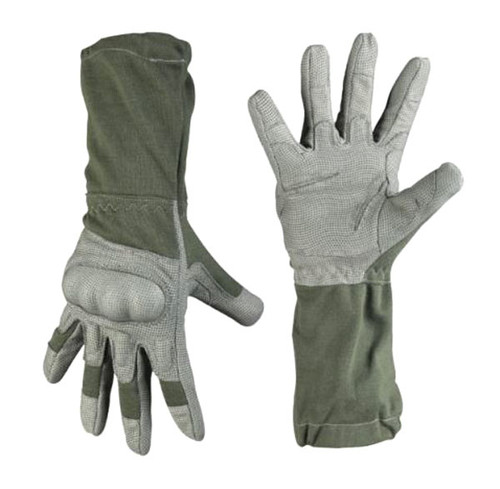Mil-Tec Foliage Long FR Action Gloves