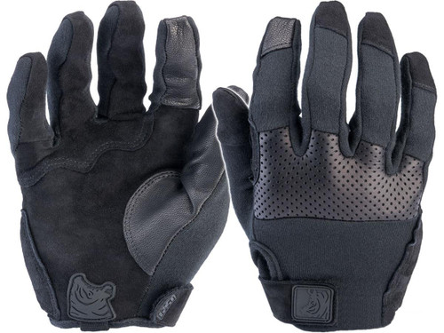 PIG FDT Alpha Flame-Resistant Gloves (Colour: Black)