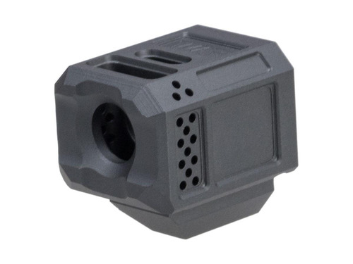 Janus Division Weapons Armament Research Licensed 14mm CCW A10 Compensator 14mm CCW for ISSC M22, SAI BLU, Lonewolf, & Compatible Airsoft Gas Blowback Pistol