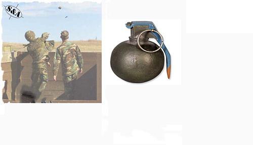 Dummy Hand Grenade -Baseball w/ Fuse Kit